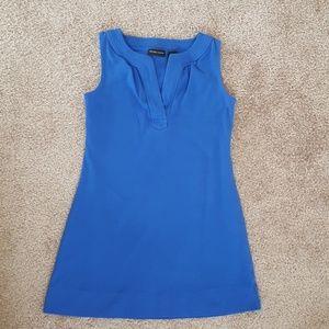 Royal blue New York and Company sleeveless dress